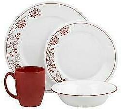 nib round 16 piece dinnerware set vive