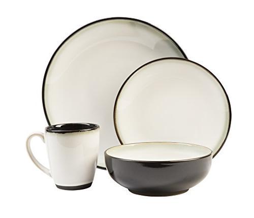 Sango Piece Dinner Plates, 4 Plates, Bowls, and 4 Coffee Mugs