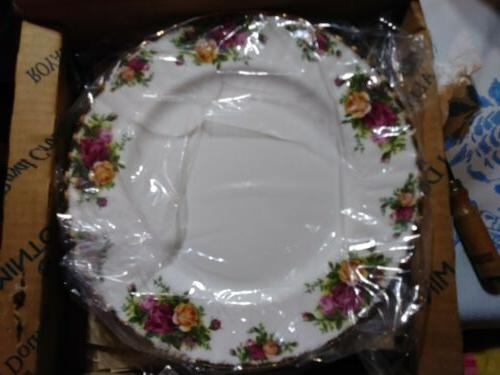 old country roses 20pc china set serve
