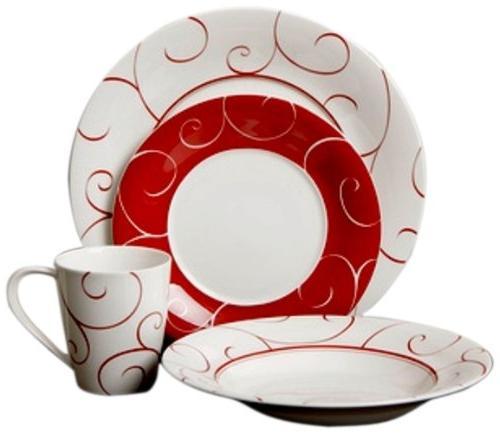 panache rouge dinner set x