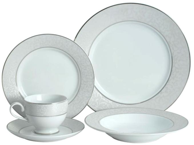 parchment dinnerware set