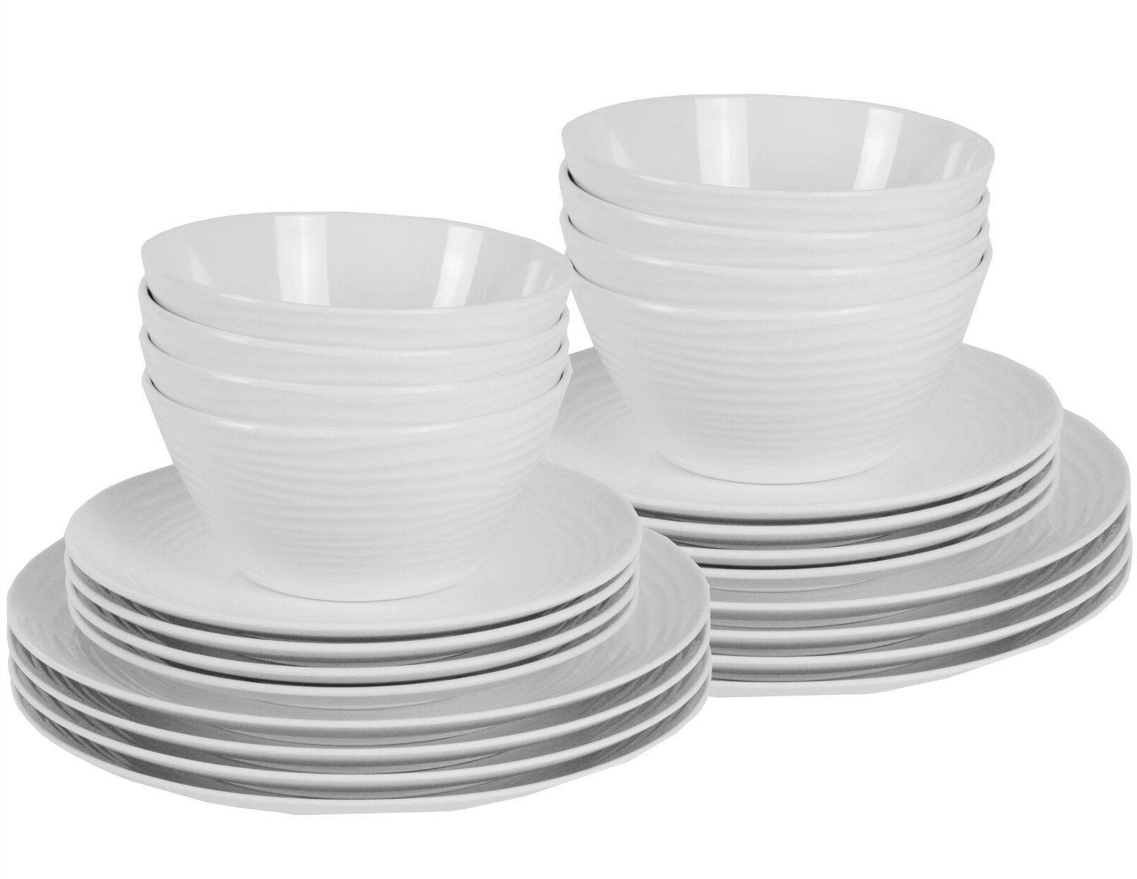 Parhoma White Plastic Set