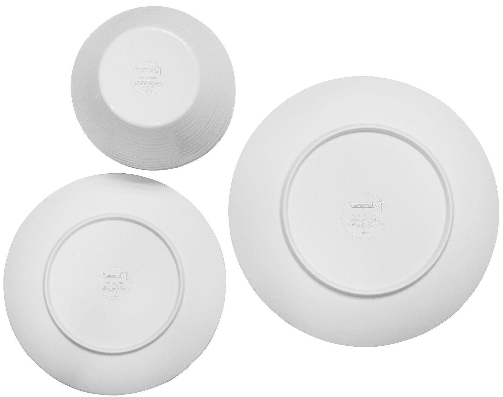 Parhoma 24 White Dinnerware Set 8