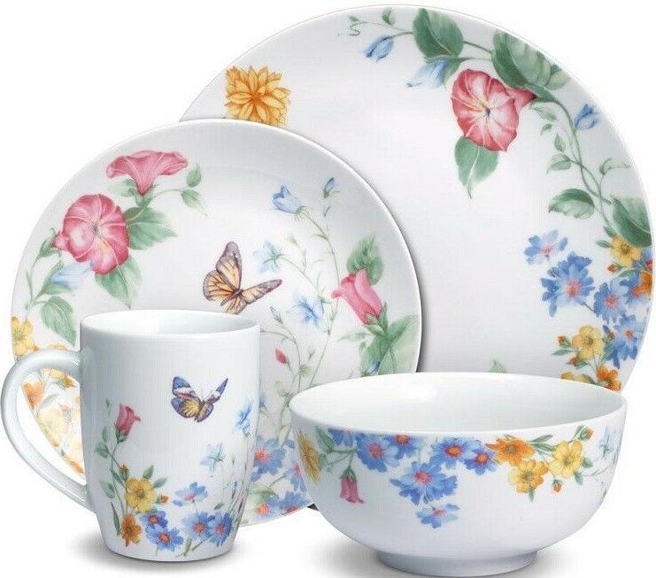pfaltzgraff annabelle piece dinnerware set service