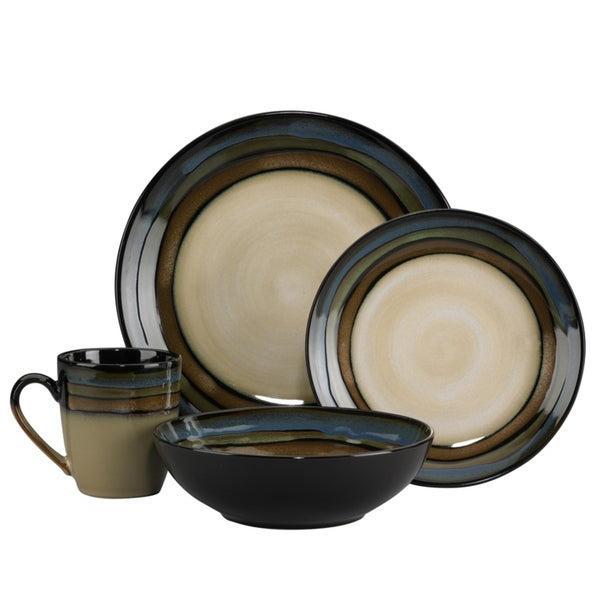 Pfaltzgraff Galaxy Stoneware 16-Piece Dinnerware Set