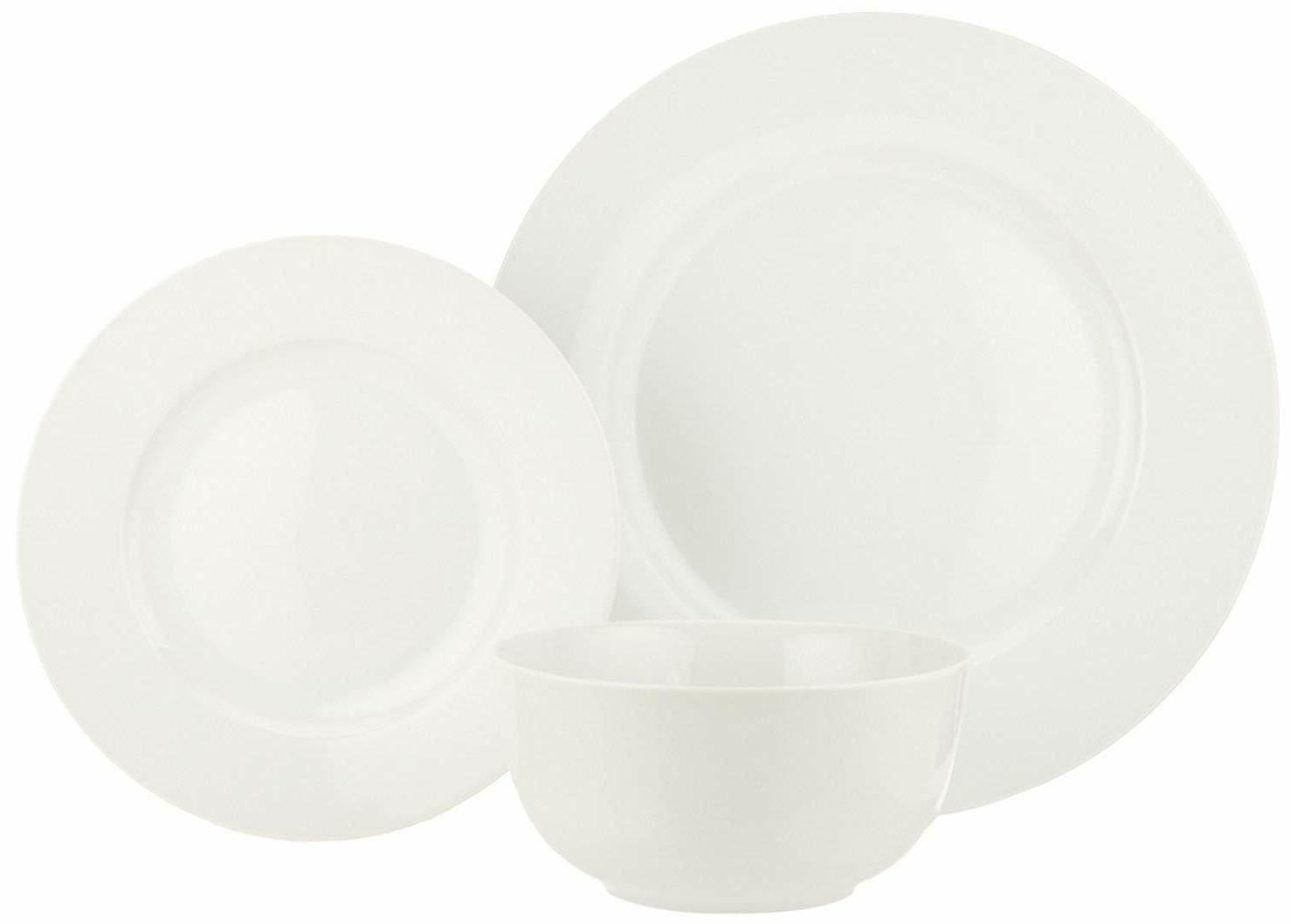 Piece Set 18 White Livingware