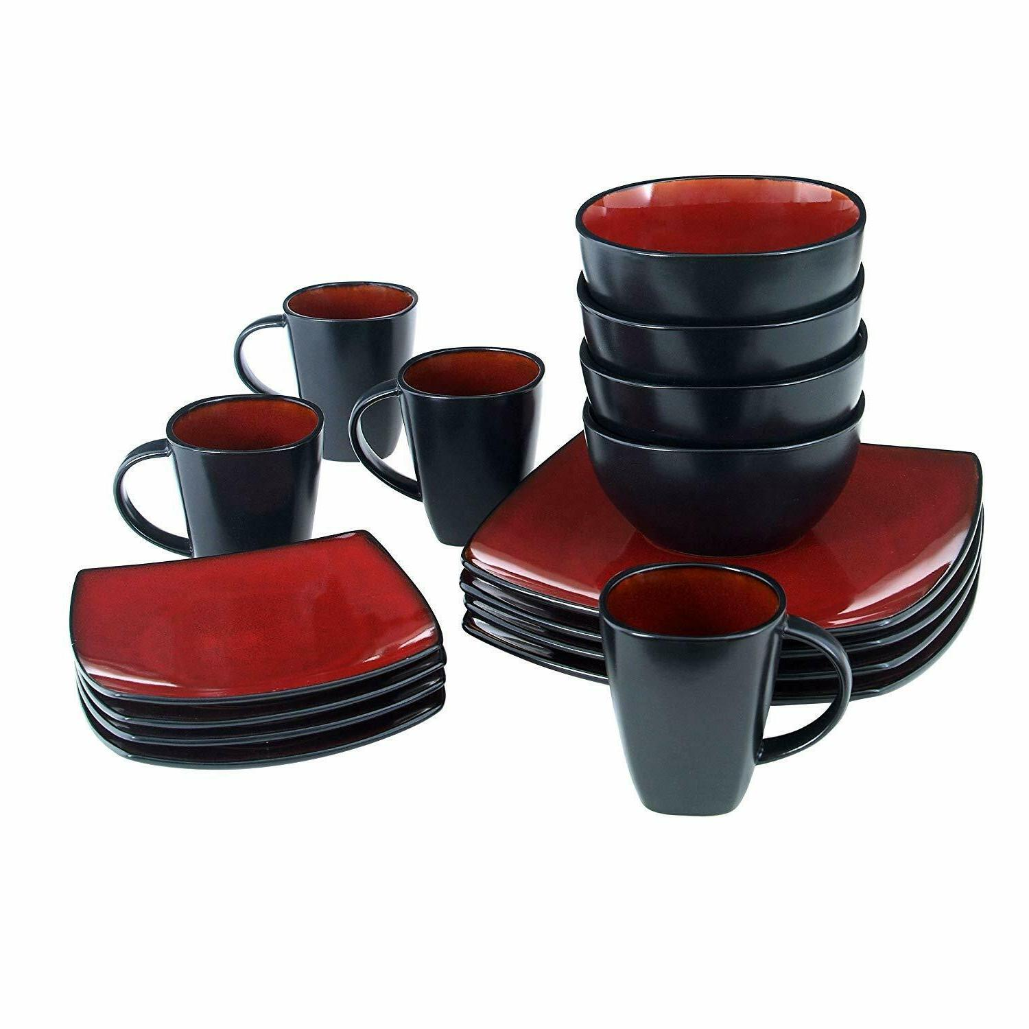16 Piece in Includes Dinner Plates,...