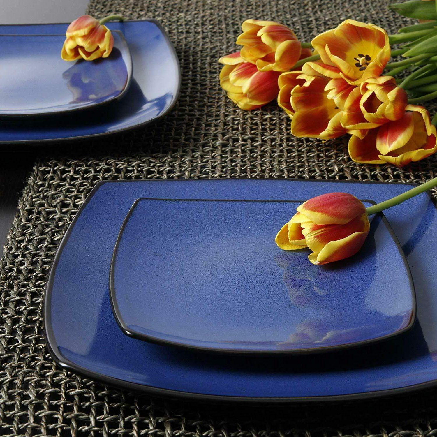 Dinnerware Set Plates Home Lounge