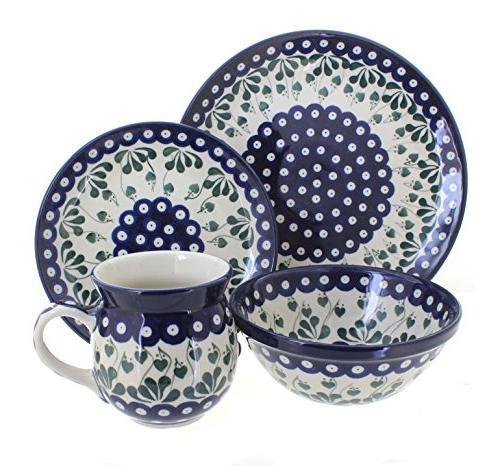 polish pottery alyce dinner set