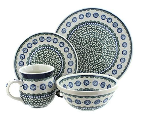 polish pottery maia dinner set