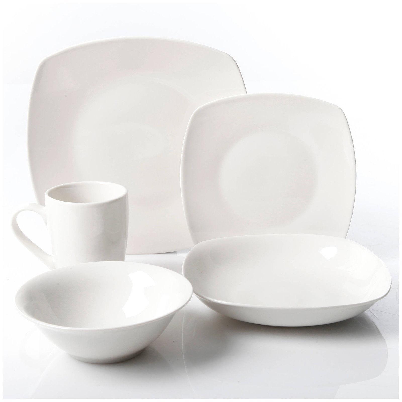 Porcelain Dinnerware 6 30Pc Kitchen Bowls