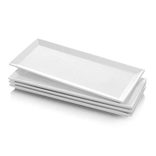 porcelain serving platters rectangular plates