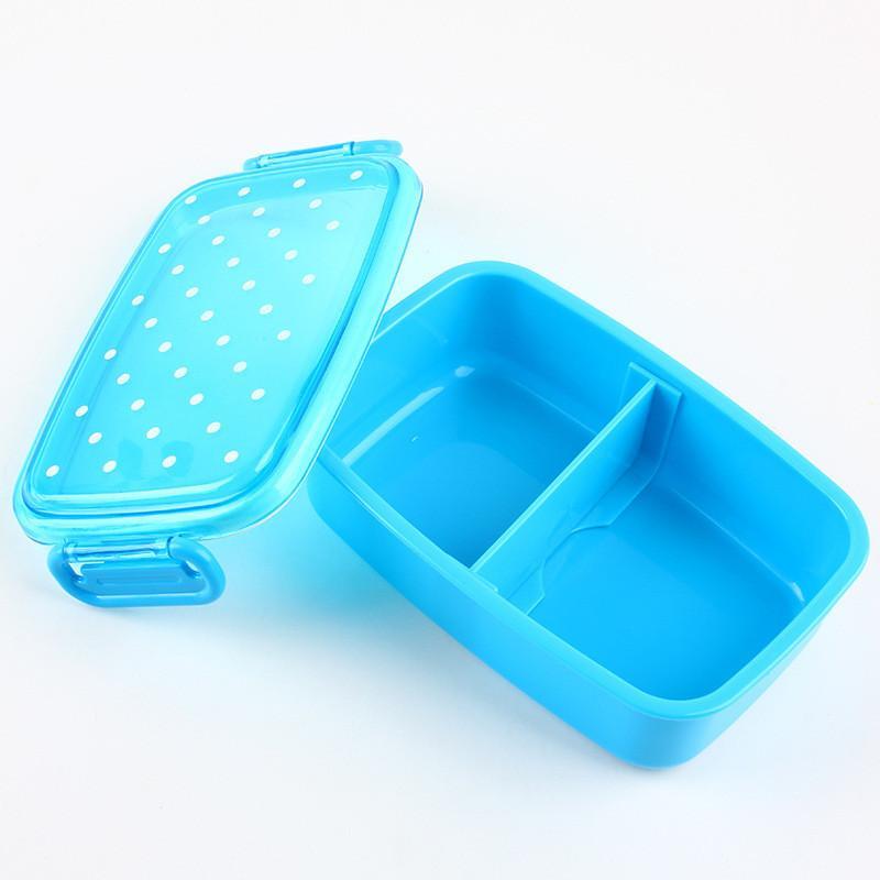Portable <font><b>Polka</b></font> Food Container Boxs Kids