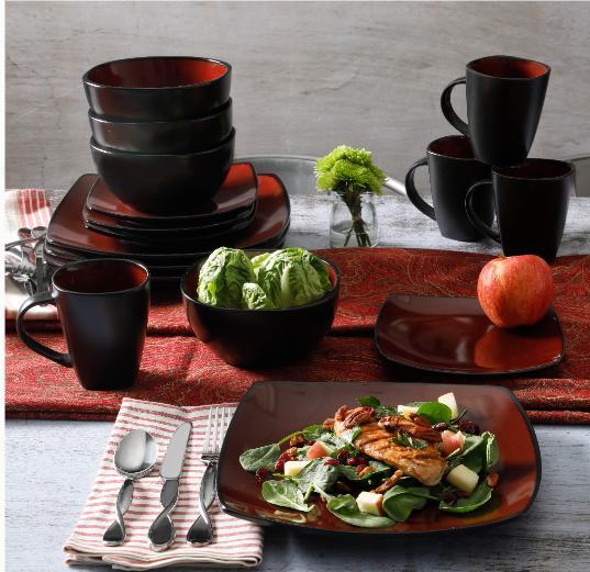Lounge Stoneware 16-piece Dinnerware