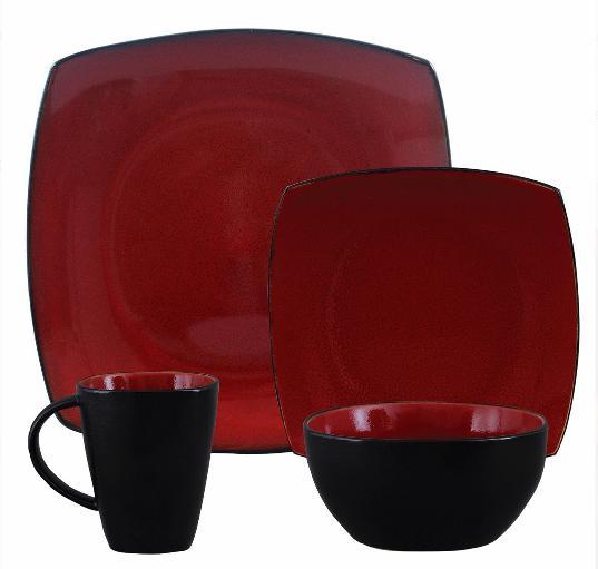 quality home soho lounge square stoneware 16