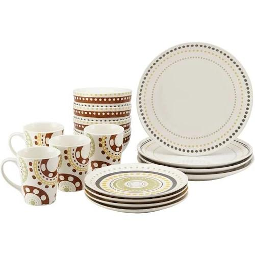 Rachael Ray Dots Stoneware Set