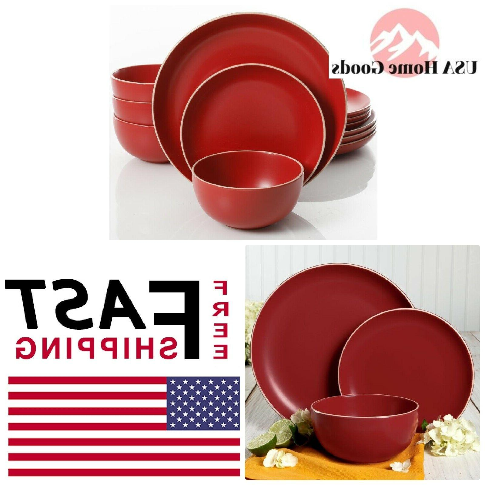 rockaway dinnerware set