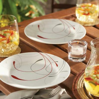 livingware splendor 16 piece dinnerware set