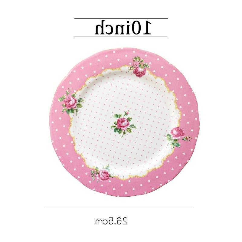Round Dinner Plates Ceramic Dishes Dishes