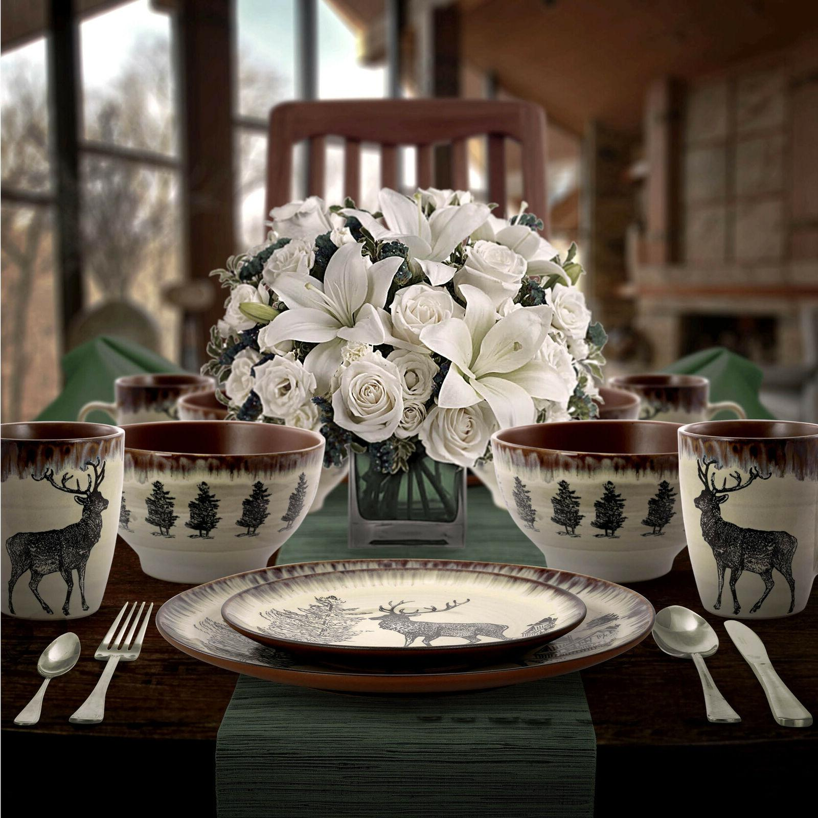 Rustic Dinnerware Farmhouse Country Dinner Plates Dishes