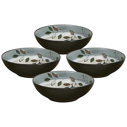 Pfaltzgraff Rustic Leaves Set of 4 Individual Pasta Bowls