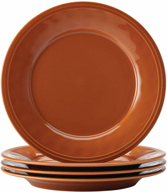 Rustic Pumpkin Cucina 16-Piece Stoneware Set Orange