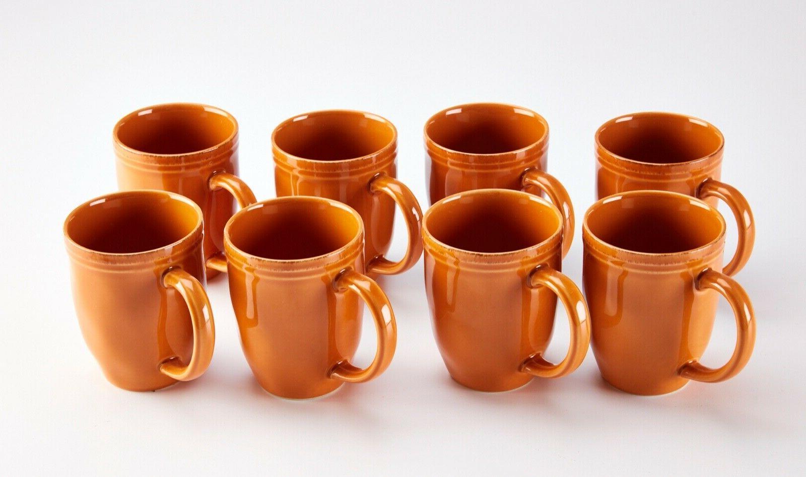 Rustic Pumpkin Rachael Ray mug Orange