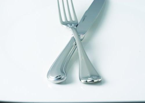 Fortessa Marco Stainless Steel Flatware, 5 Piece Setting, for 1