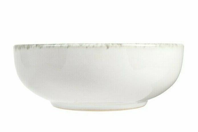 Set Pcs Dishes Stoneware Modern Classic Service New