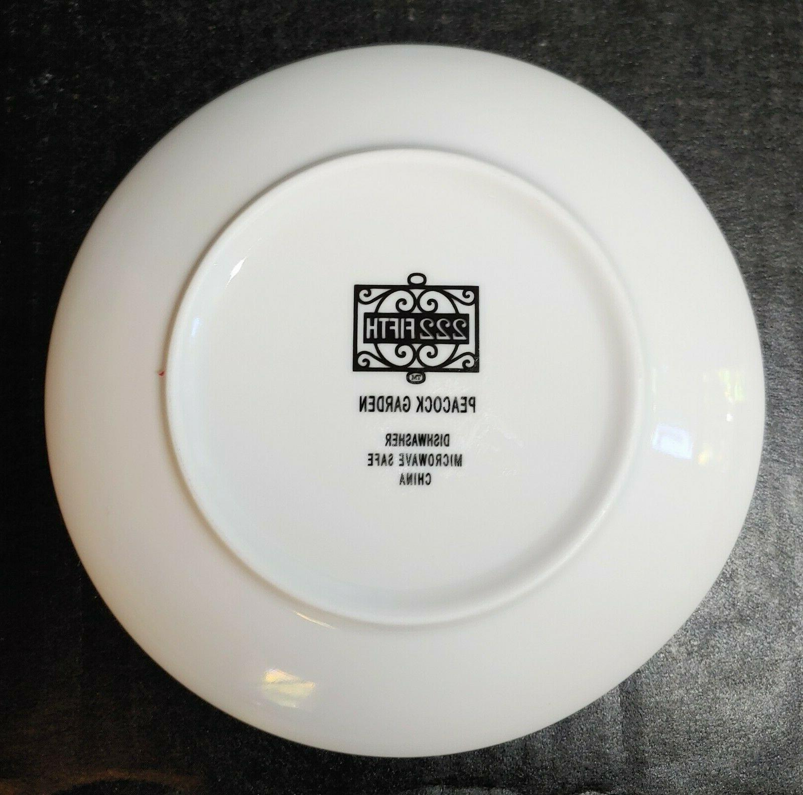"""Set of Fifth China 6 1/2"""" Bread"""
