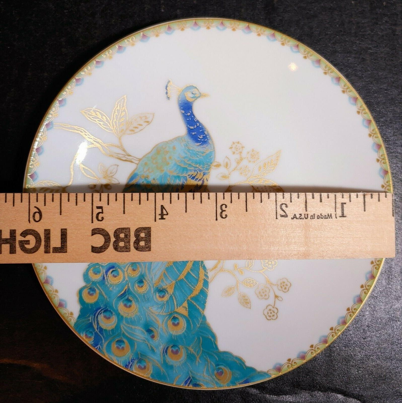 Set of 4 Fifth 6 Appetizer Bread Plates