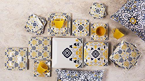 Oxford 20 Piece Sevilla Collection Dinnerware