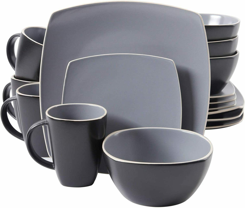 soho lounge matte dinnerware set