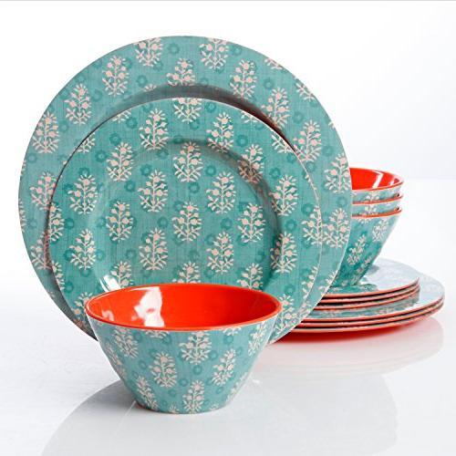 solina melamine dinnerware set