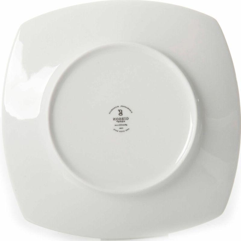 Square Ceramic Plates Everyday 12 Dessert