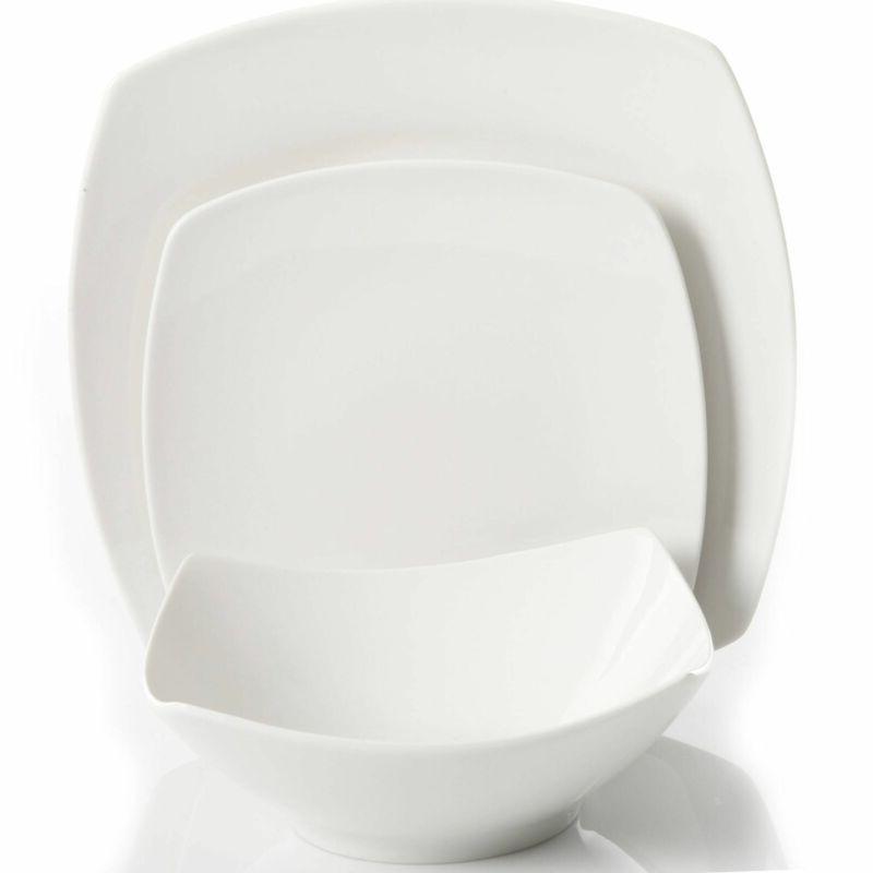 Square Ceramic Everyday Bowls Dinnerware