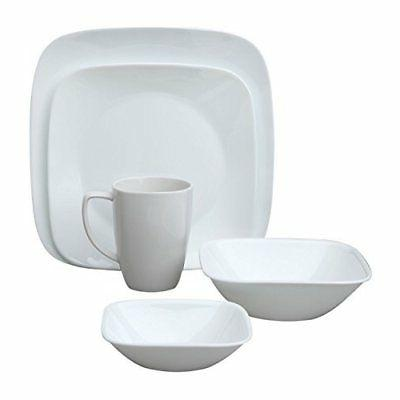 Corelle Square 20-Piece Dinnerware Set, for