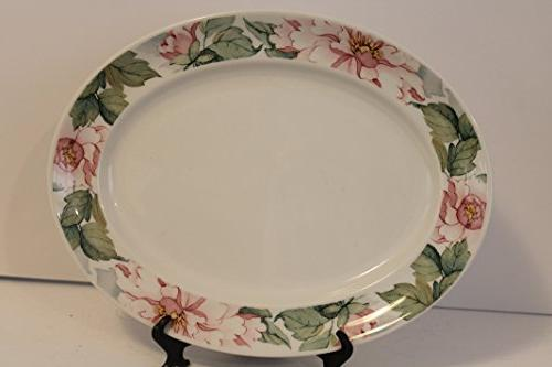 "Johnson Staffordshire Pattern Dinnerware BONUS 12"" Platter"