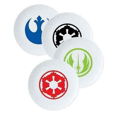Star Wars 8 Inch Ceramic Plate Set Of 4