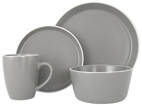 stoneware dinnerware set service