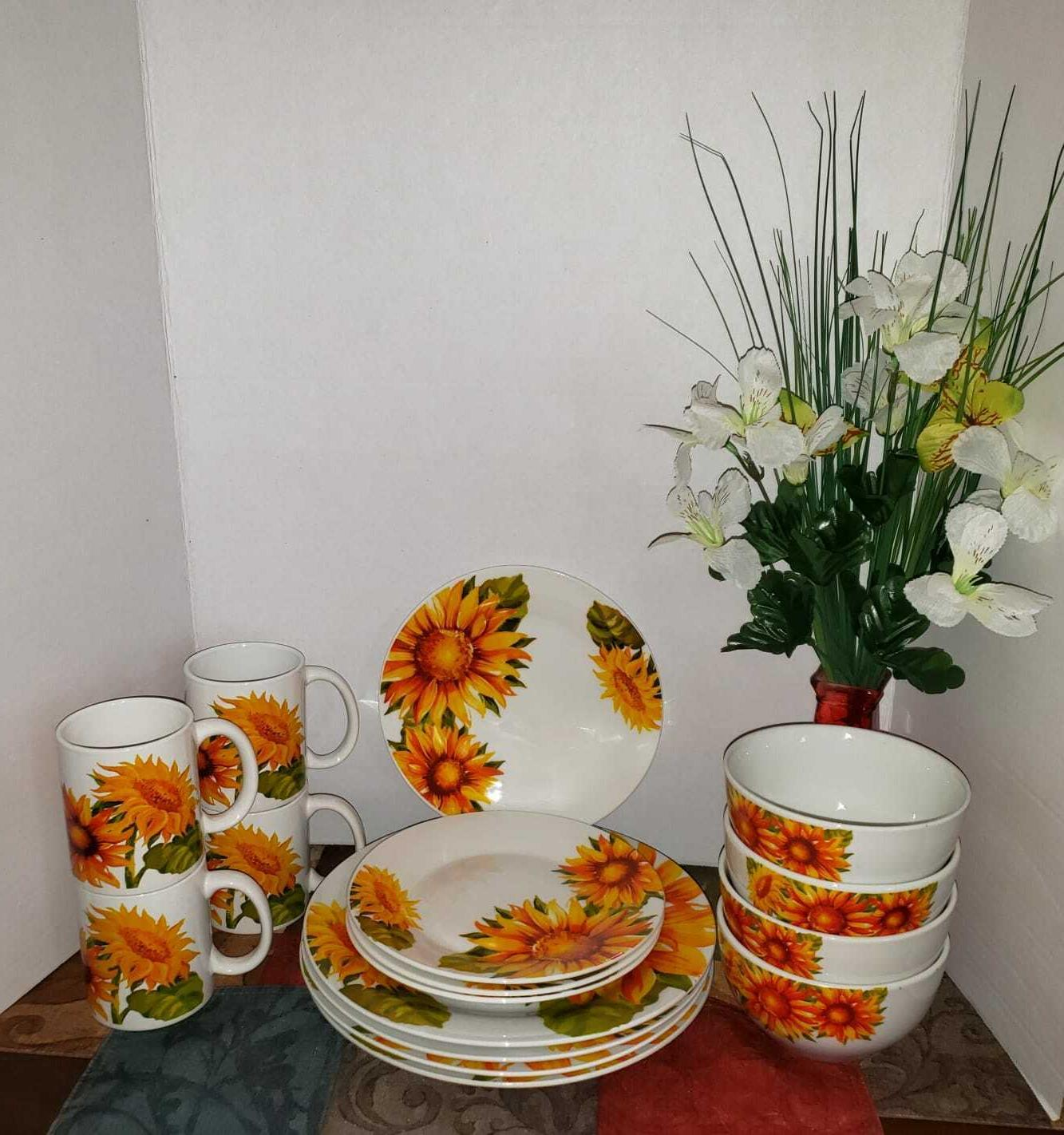 Sunflower Home Collection Set Piece