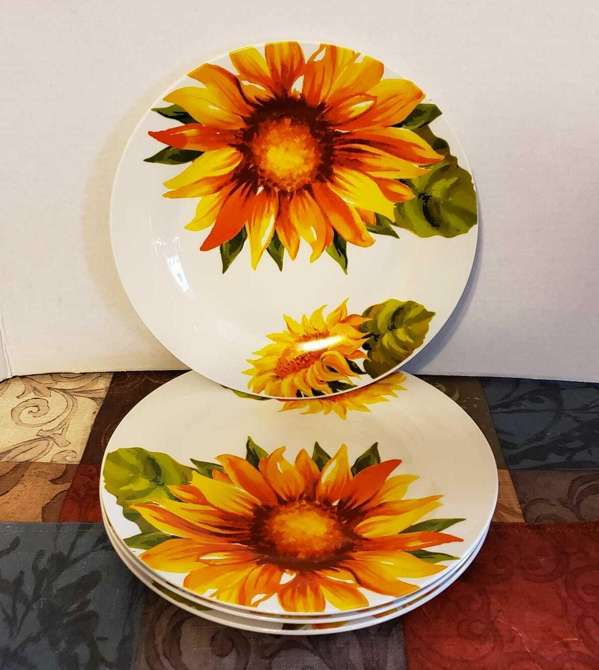 Sunflower Dinnerware Home Piece