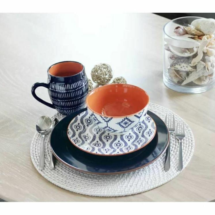 Tangiers 16 Piece Set, Service for 4