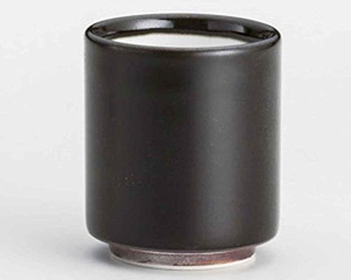 tenmoku japanese tea cups black