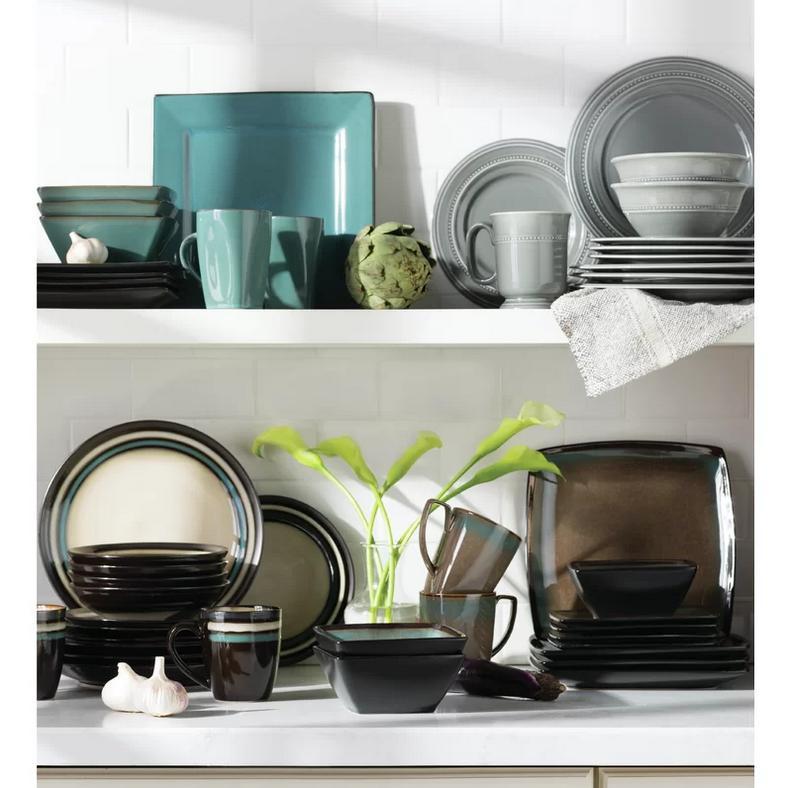 Tequesta Piece Dinnerware Set, Service for