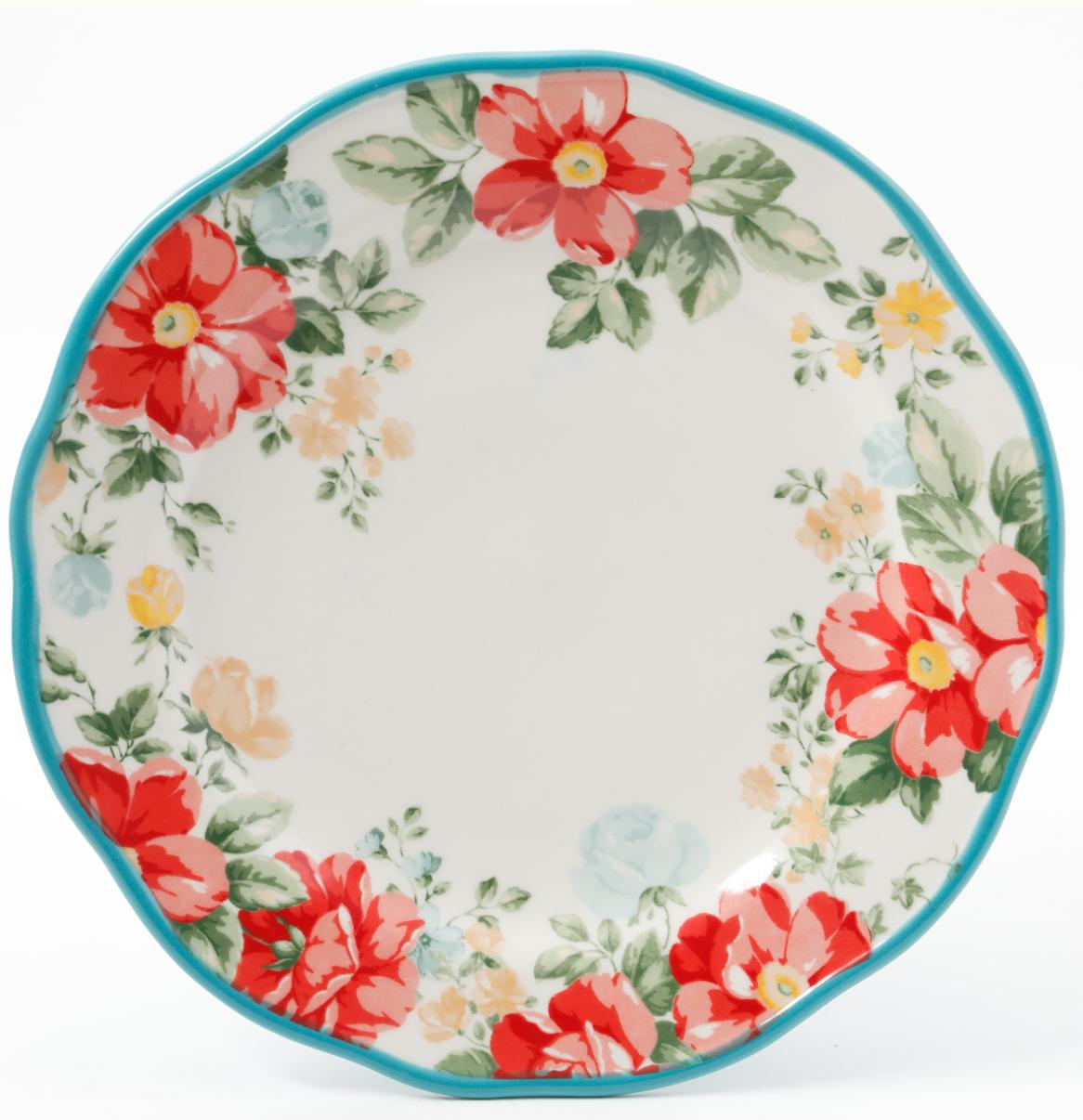 The Ruffle Floral Dinnerware 20
