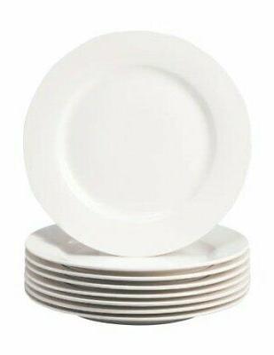 thomson pottery basic white 8 pc salad