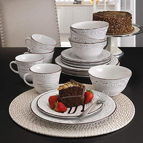 Pfaltzgraff 5217179 16-Piece Dinnerware Service for 4