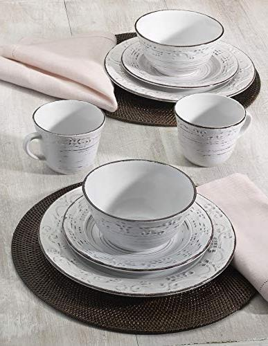 Pfaltzgraff Trellis 16-Piece Dinnerware for 4