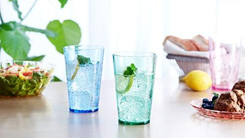 19 Unbreakable Premium Drinking of Plastic Cups - Free - in